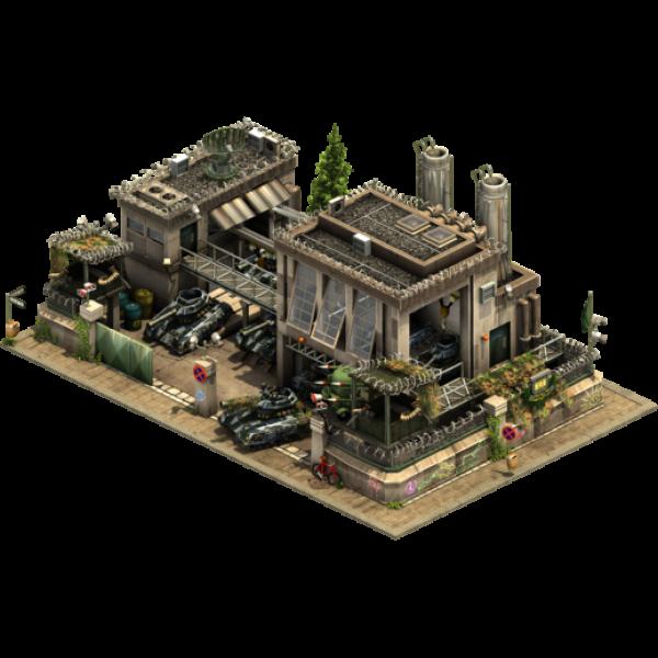 Завод универсальных танков