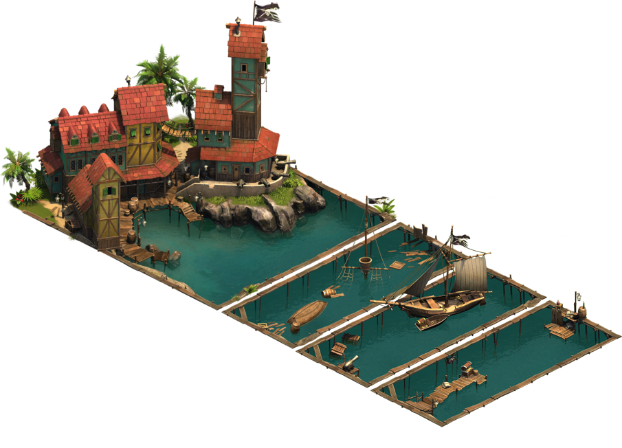 Пиратское убежище