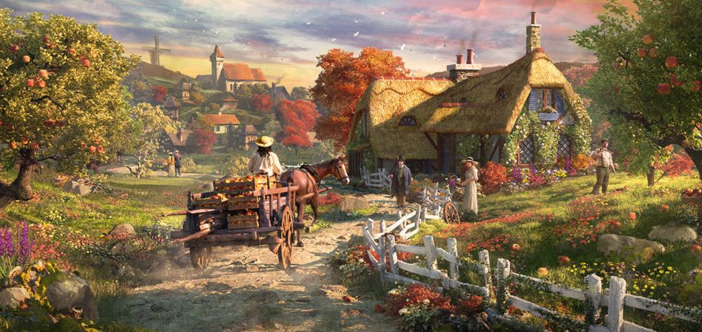 Осенний ивент FoE 2019