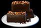 Пирожные из шоколадной помадки