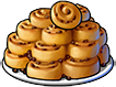 Шоколадно-карамельные булочки с корицей