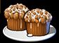 Тыквенно-яблочные кексы