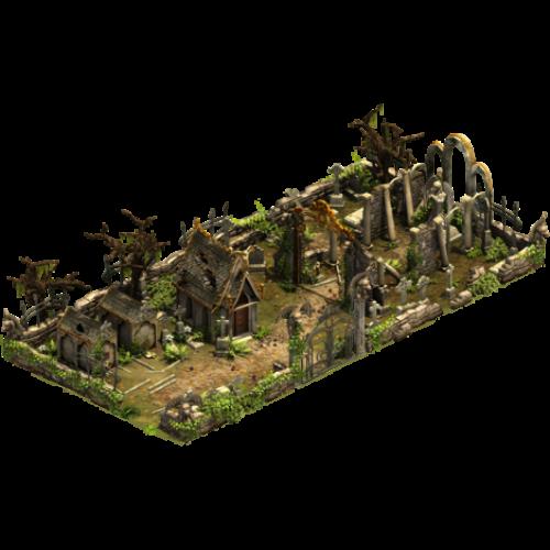Легендарное кладбище