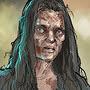 Зомби женщина