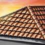 Дом с черепичной крышей