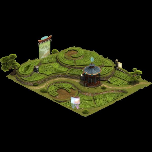 Экологичная рисовая ферма