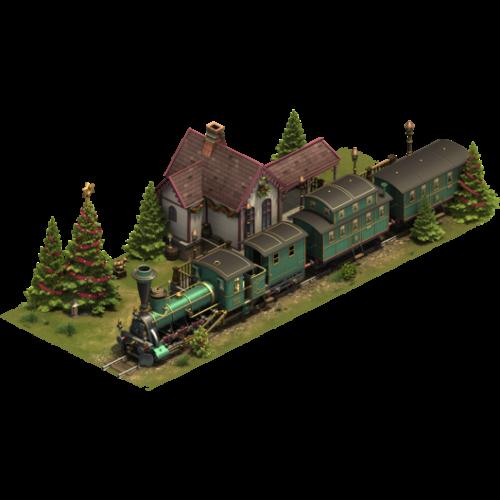 Вечнозеленый поезд
