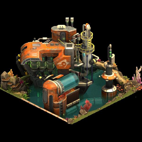 Фабрика по добыче полезных ископаемых