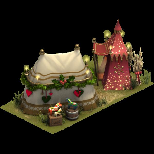 Палатка ремесленника