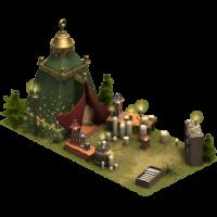 Палатка свечных дел мастера
