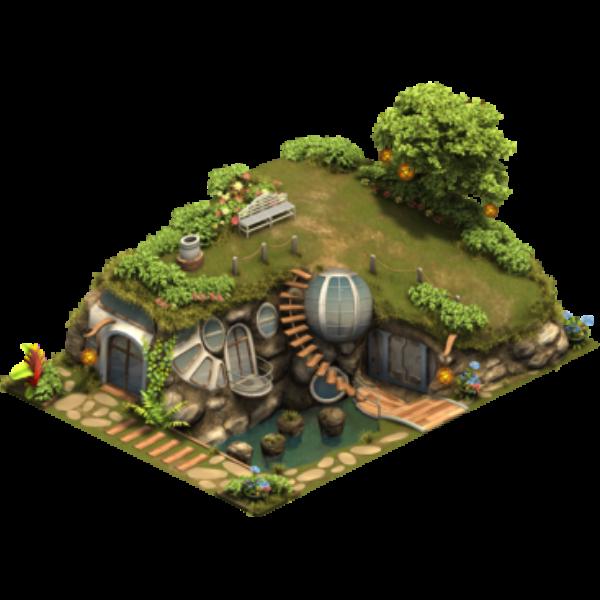 Подземный дом