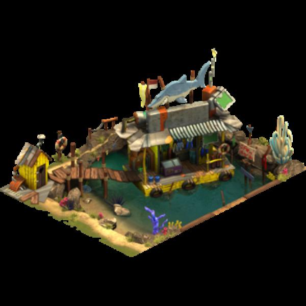 Прибрежный магазин