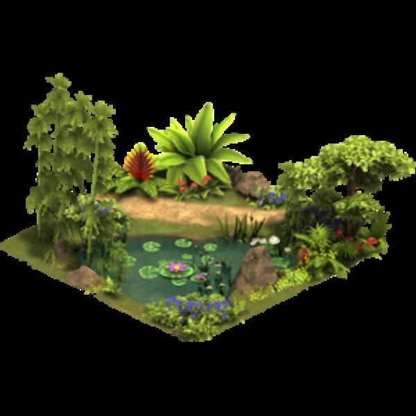 Пруд Махараджи в джунглях