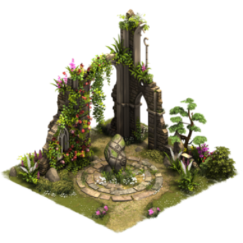Садовые руины