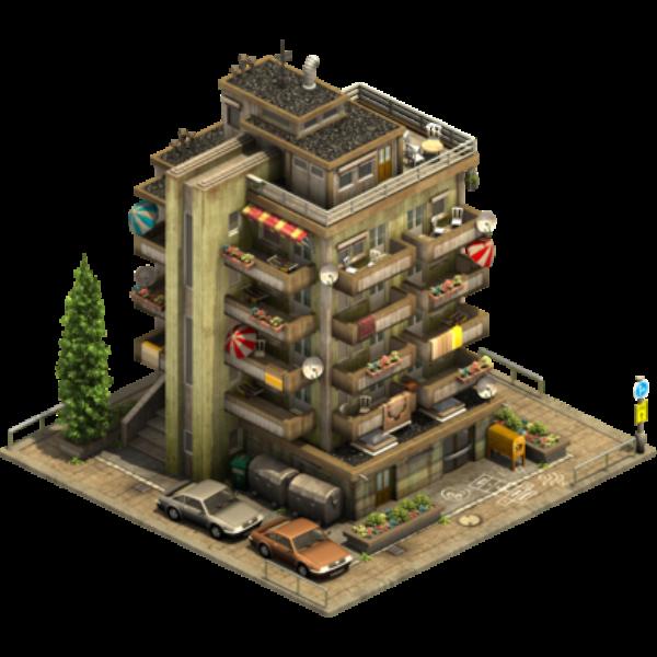 Сборная многоэтажка