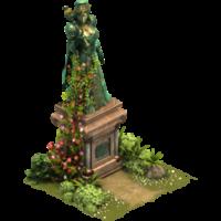 Статуя королевы