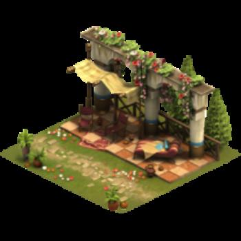 Терраса для классического сада