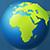 Сектор карты континента