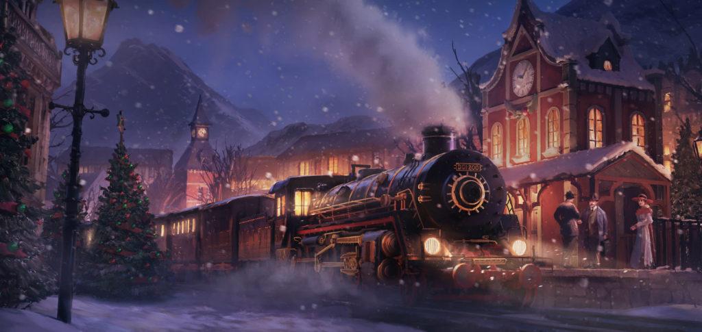 Зимний ивент FoE 2019