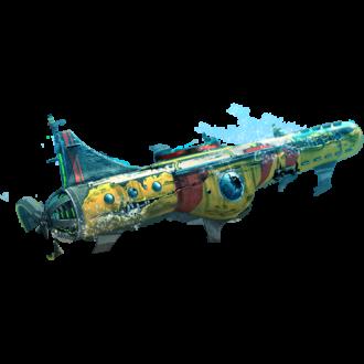 Повреждённая субмарина на 90%
