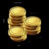 Очень много монет