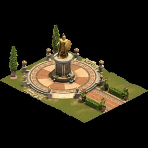 Статуя чести — ур. 2
