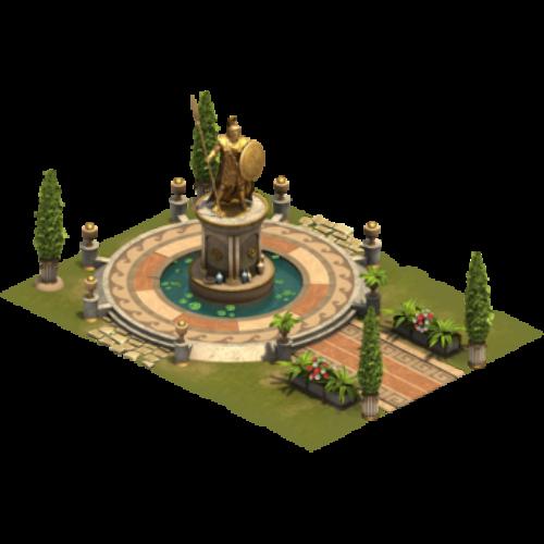 Статуя чести — ур. 3