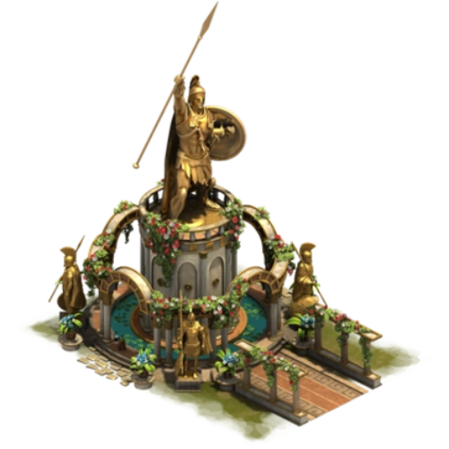 Статуя чести — ур. 8