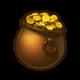 Горшочек с золотом x 100