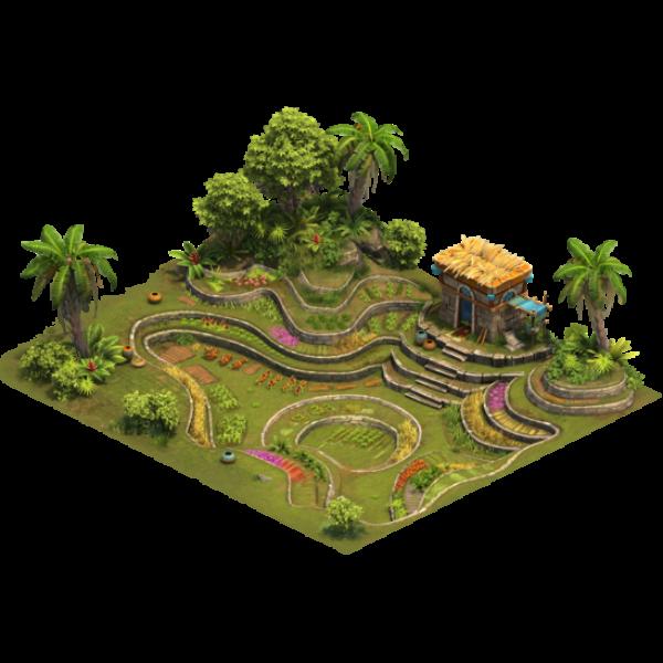 Ферма на террасе