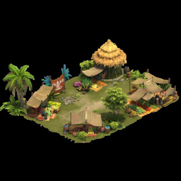 Площадь племени
