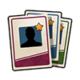 Карточки игроков x 3