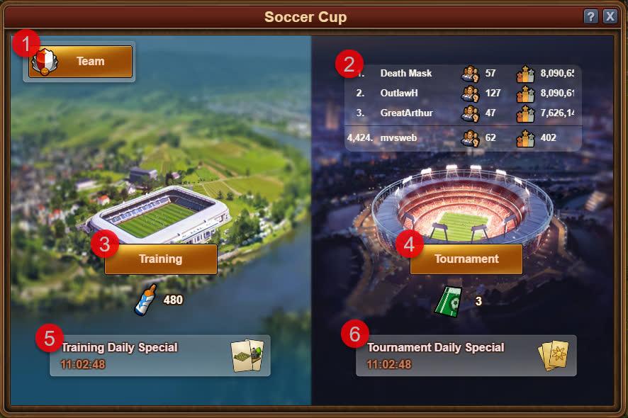 Кубок FoE по футболу 2020 - Окно ивента