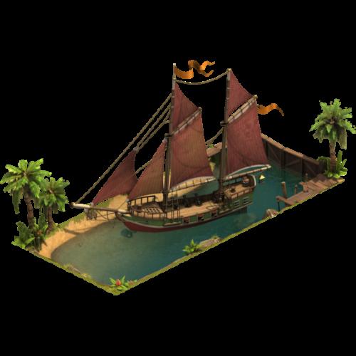 Корабль — ур. 5