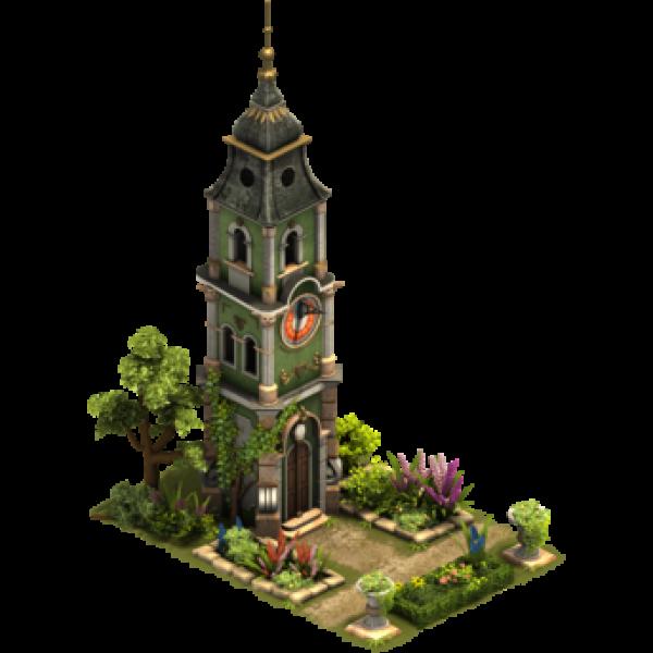 Башня с солнечными часами