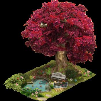 Большое дерево любви