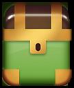 Зелёный сундук